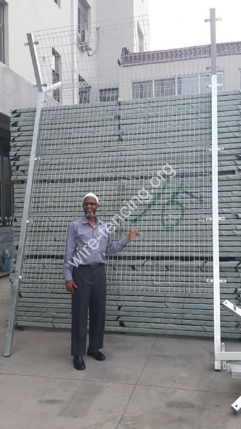 Airport Fence Anping County Hua Guang Wire Mesh