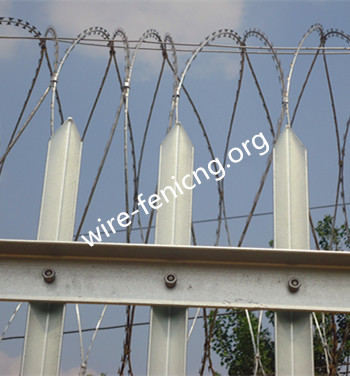 Steel Tower Fence Anping County Hua Guang Wire Mesh